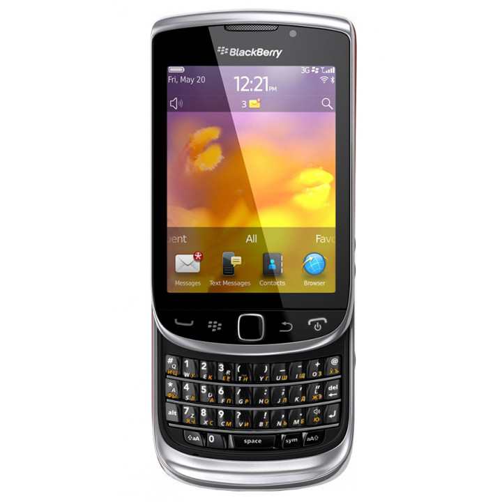 BlackBerry Torch 9810 silver