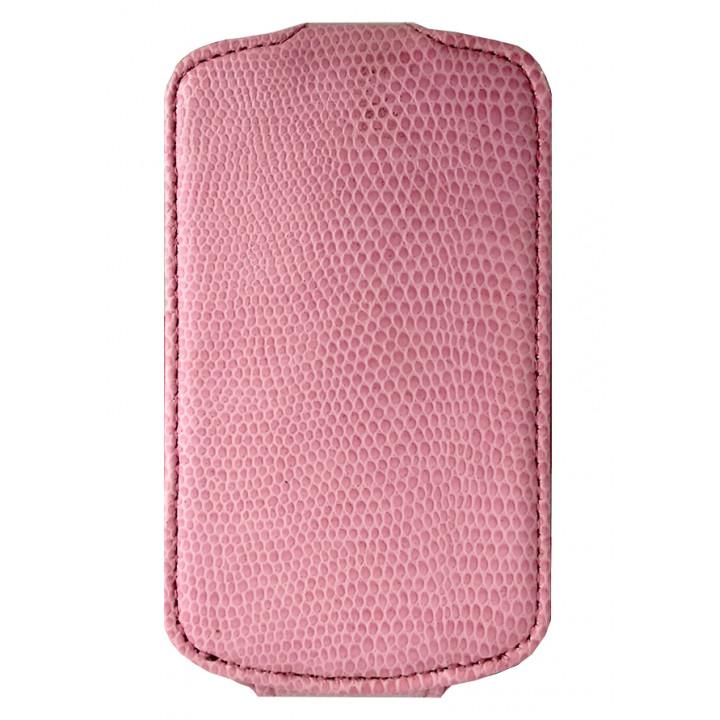 Чехол-флип для BlackBerry 9900/9930 розовый