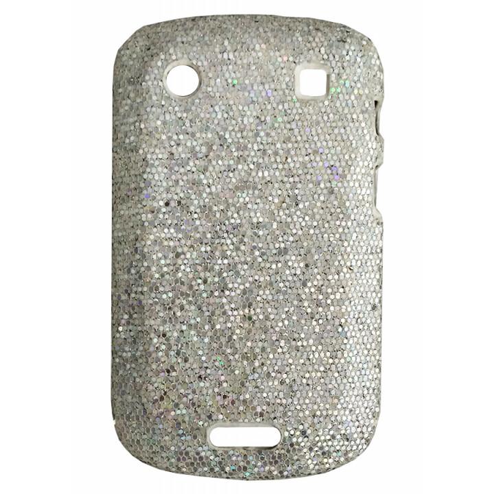 Чехол-крышка для BlackBerry 9900 серебро