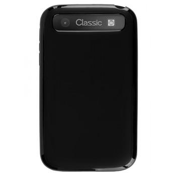 Чехол-крышка для BlackBerry Classic черный глянцевый