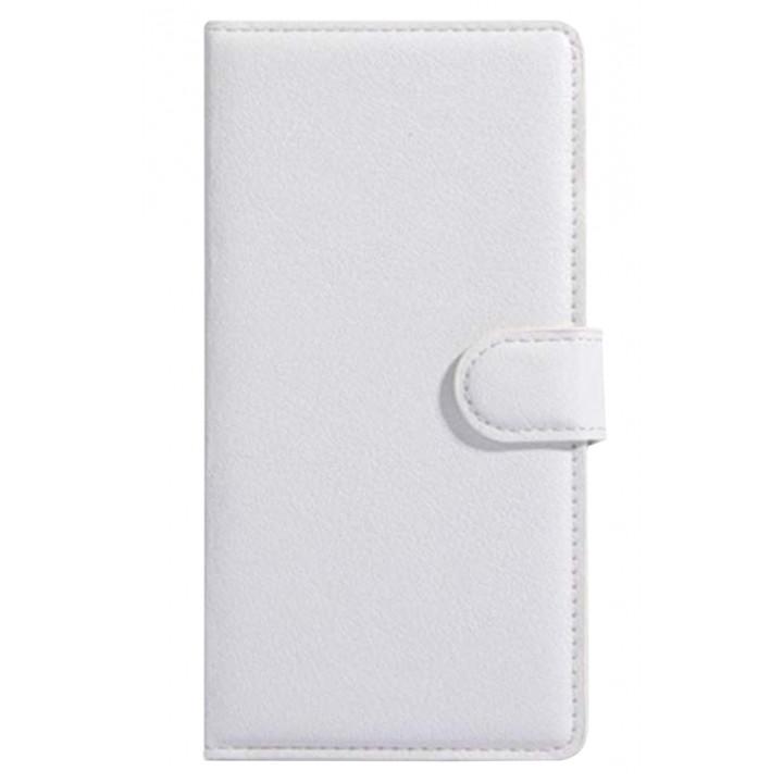 Чехол-портмоне кожаный  для BlackBerry Classic белый