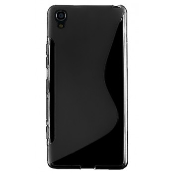 Силиконовый чехол-крышка для BlackBerry DTEK50 черный