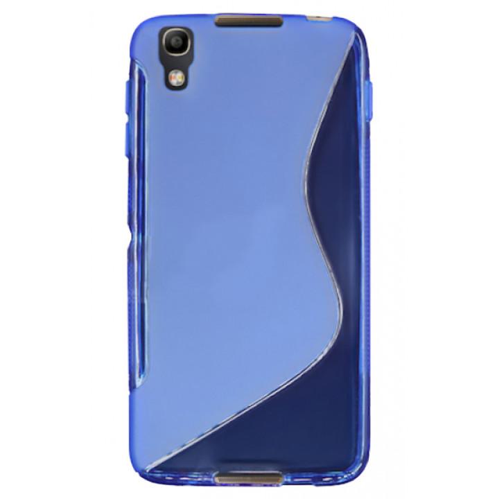 Силиконовый чехол-крышка для BlackBerry DTEK50 синий