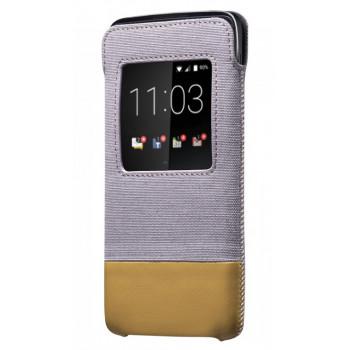 Оригинальный Smart Pocket для BlackBerry DTEK50 серо-коричневый