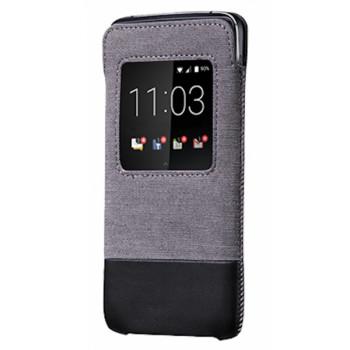 Оригинальный Smart Pocket для BlackBerry DTEK50 серо-черный