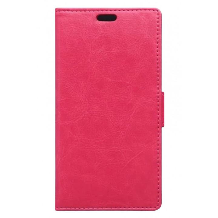 Чехол-книга для BlackBerry DTEK50 розовый