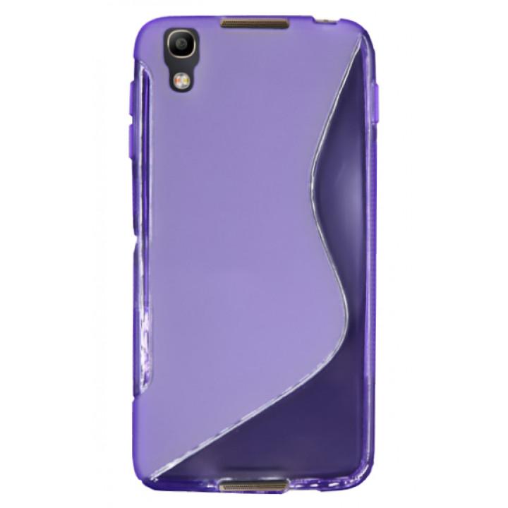 Силиконовый чехол-крышка для BlackBerry DTEK50 фиолетовый