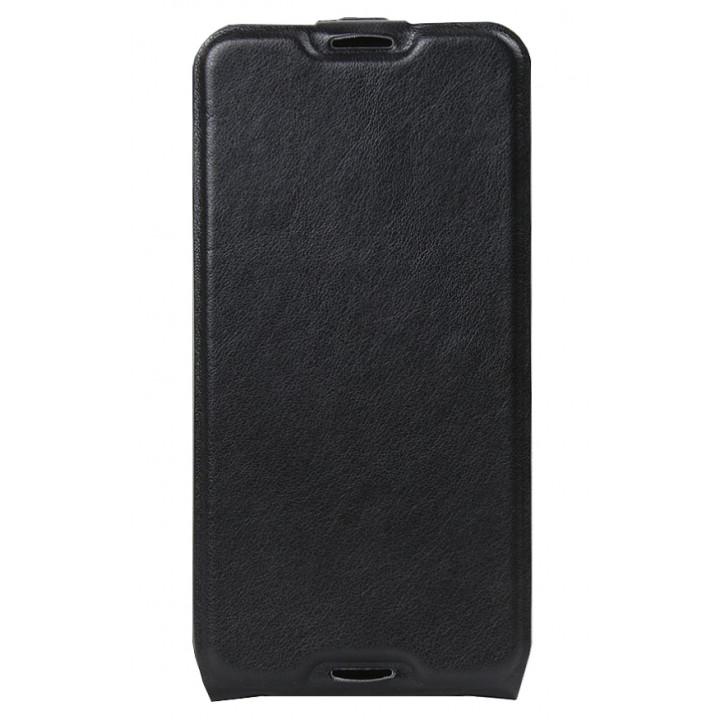 Кожаный чехол-флип для BlackBerry DTEK50 черный