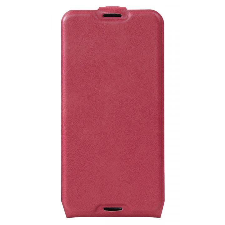 Кожаный чехол-флип для BlackBerry DTEK50 розовый