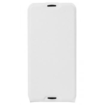 Кожаный чехол-флип для BlackBerry DTEK50 белый