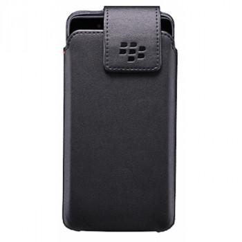 Оригинальный чехол-карман на клипсе для BlackBerry DTEK50 черный