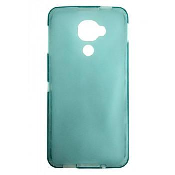 Чехол-крышка для BlackBerry DTEK60 голубой полупрозрачный