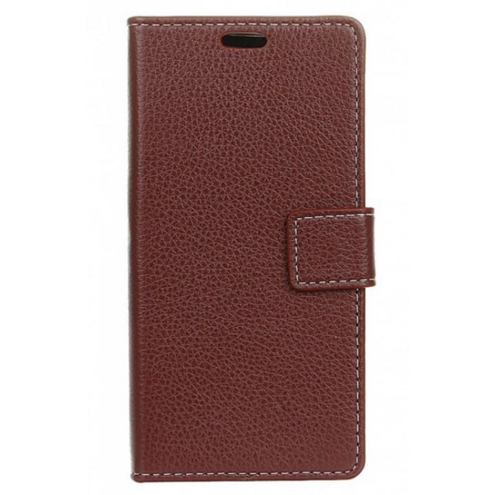 Чехол-портмоне для BlackBerry DTEK60 коричневый