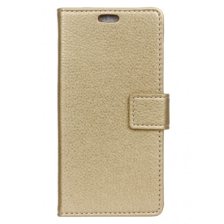 Чехол-портмоне для BlackBerry DTEK60 золотой