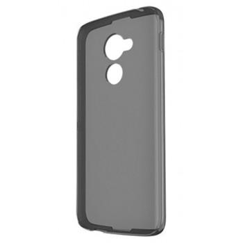 Чехол-крышка для BlackBerry DTEK60 черный полупрозрачный