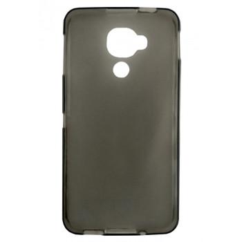 Чехол-крышка для BlackBerry DTEK60 серый полупрозрачный