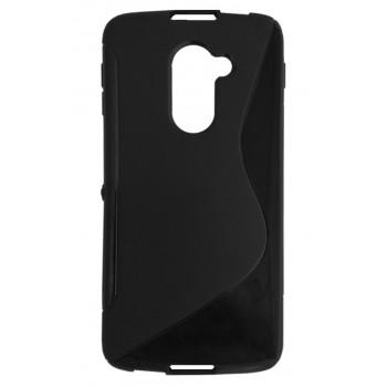 Чехол-крышка для BlackBerry DTEK60 черный волна