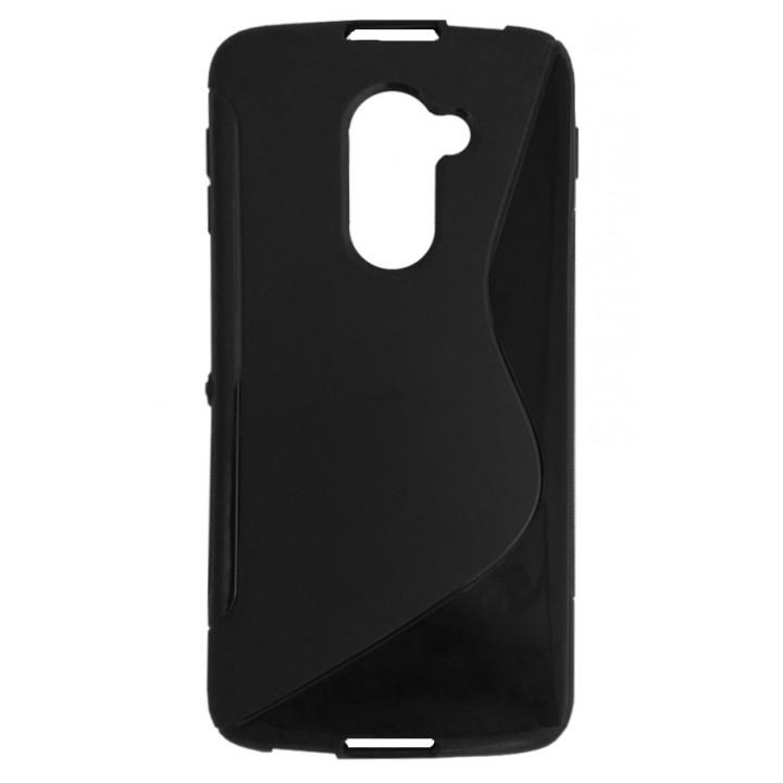 Чехол для BlackBerry DTEK60 черный волна