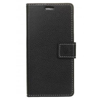 Чехол-портмоне для BlackBerry DTEK60 черный