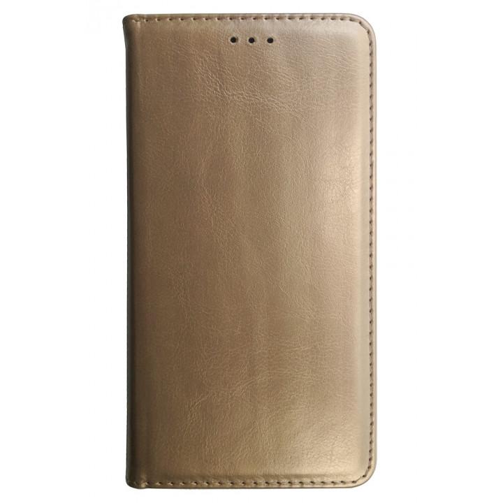 Чехол-книга для BlackBerry Evolve золотой