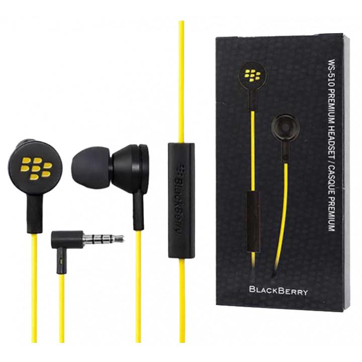BlackBerry гарнитура WS-510 желтая