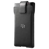 Оригинальная кожаная кабура с клипсой BlackBerry