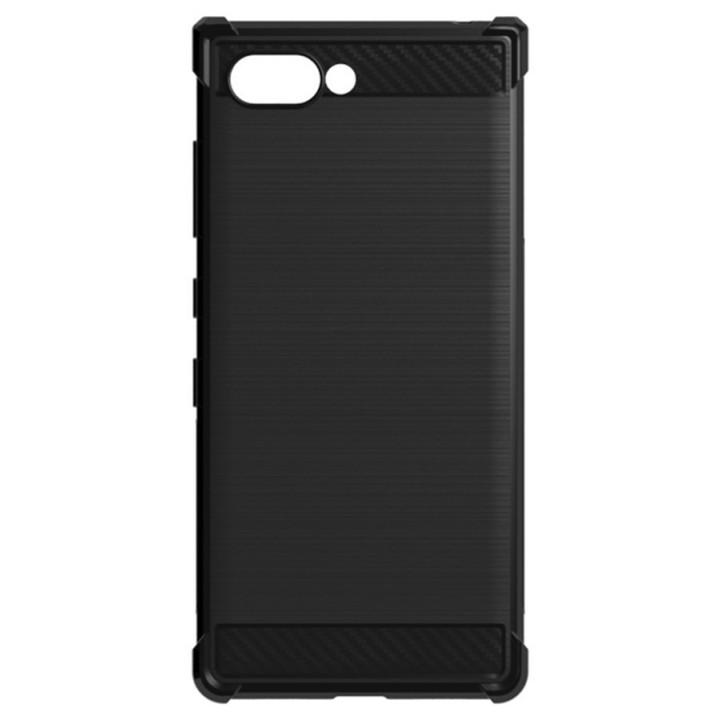Карбоновый чехол для BlackBerry KEY2 черный