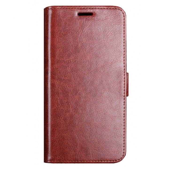 Чехол-книга для BlackBerry KEY2 коричневый