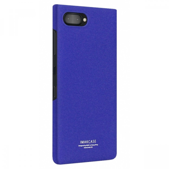 Чехол-крышка для BlackBerry KEY2 синий матовый