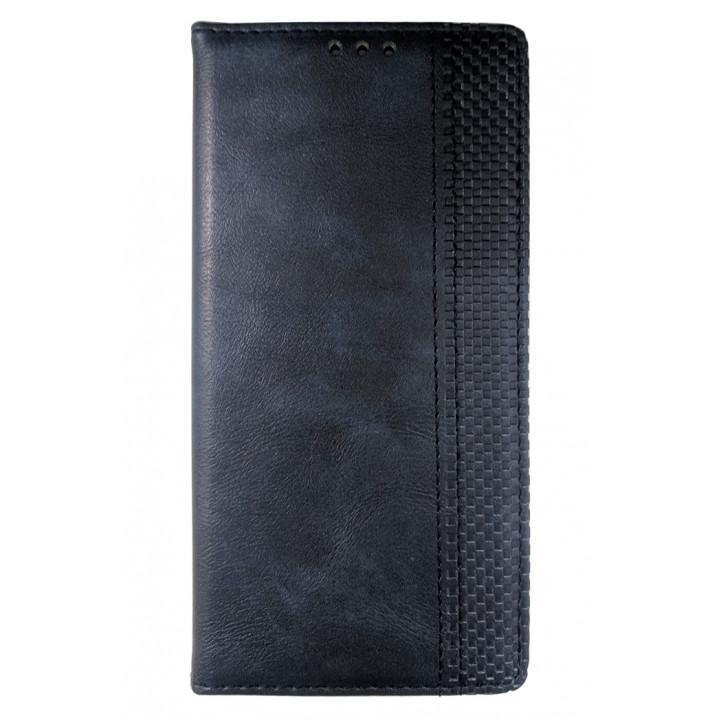 Синий чехол-книга для BlackBerry KEY2 LE