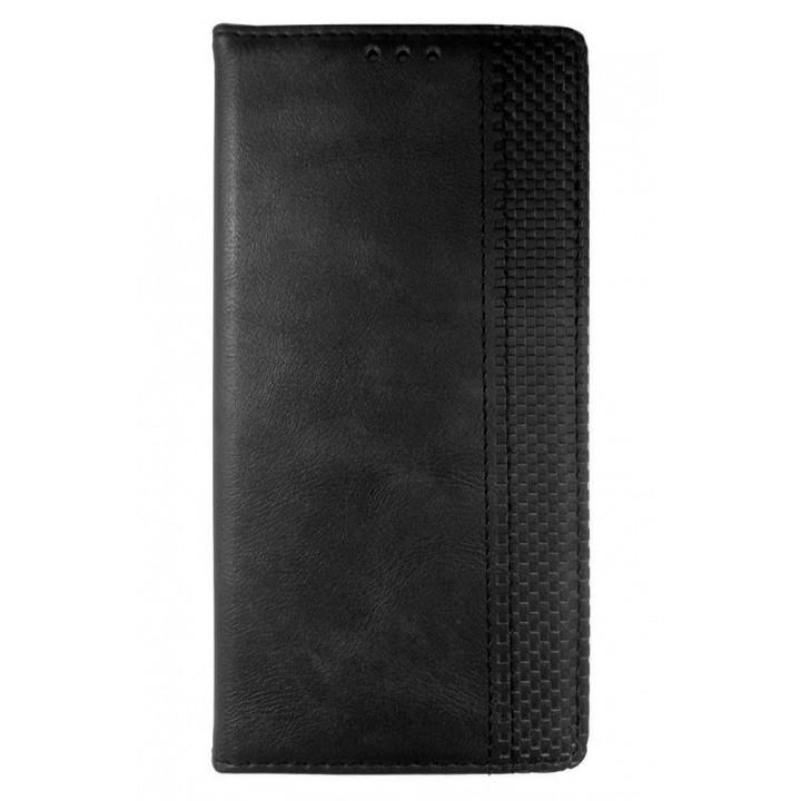 Темно-серый чехол-книга для BlackBerry KEY2 LE