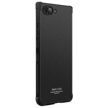 Черный усиленный чехол-крышка для BlackBerry KEY2 LE