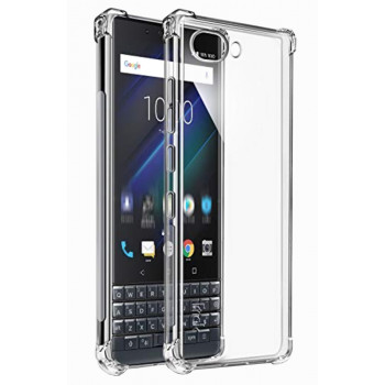 Чехол-крышка для BlackBerry KEY2 LE прозрачный усиленный