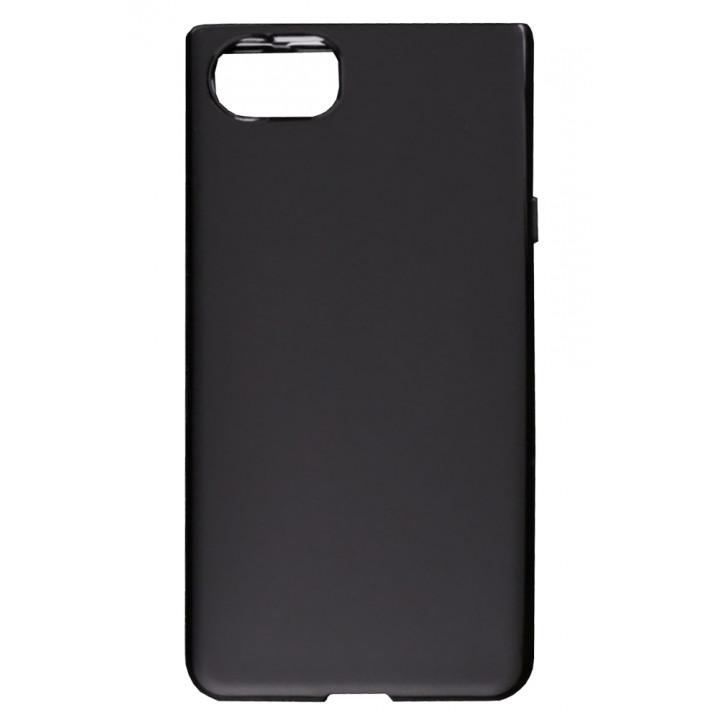 Черный силиконовый чехол для BlackBerry KEYone
