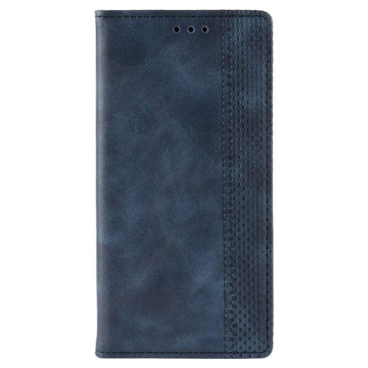 Чехол-книга синий для BlackBerry KEYone