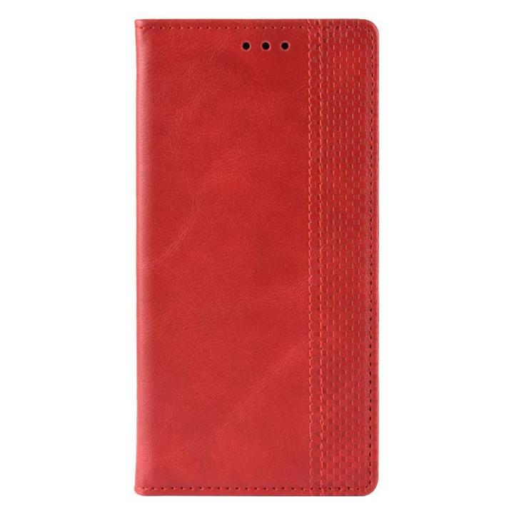 Чехол-книга красный для BlackBerry KEYone