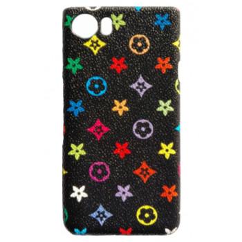 Чехол-крышка для BlackBerry KEYone цветной с узорами