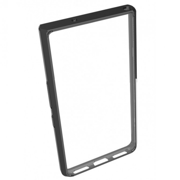 Прозрачный чехол для BlackBerry KEYone с черной рамкой