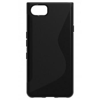BlackBerry KEYone чехол-крышка черный с волной