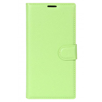 Чехол-книга для BlackBerry KEYone зеленый
