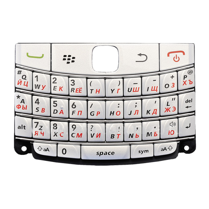 Клавиатура для BlackBerry 9700 белая