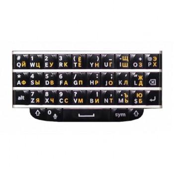 Гравировка кириллицы для BlackBerry Q10