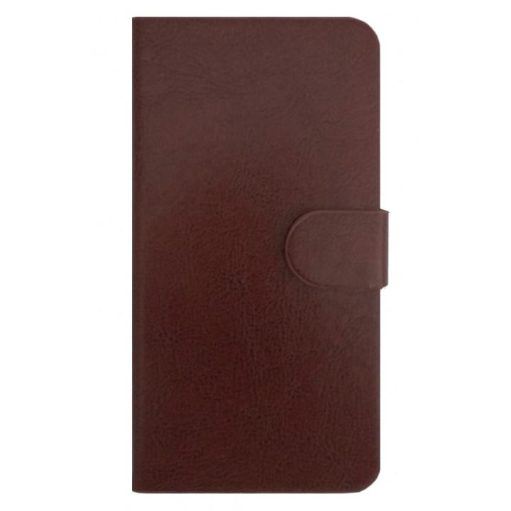 Чехол-книга для BlackBerry Leap коричневый