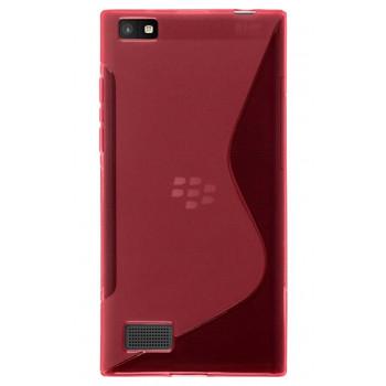 Силиконовый чехол-крышка для BlackBerry Leap розовый