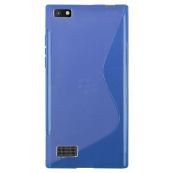 Силиконовый чехол-крышка для BlackBerry Leap синий