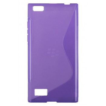 Силиконовый чехол-крышка для BlackBerry Leap фиолетовый