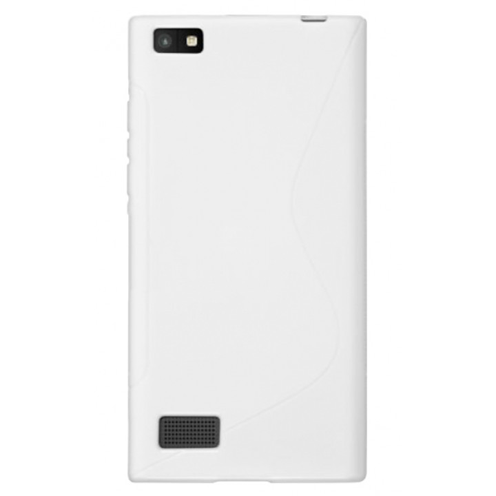 Силиконовый чехол-крышка для BlackBerry Leap белый