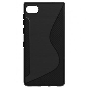 BlackBerry Motion чехол-крышка черный волна