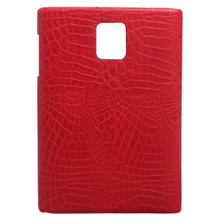 Чехол-крышка для BlackBerry Passport красный крокодил