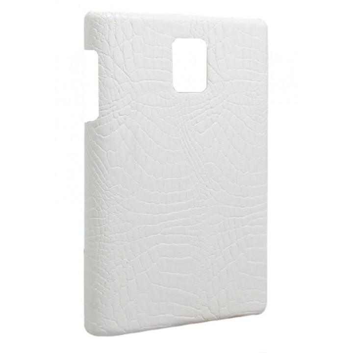 Чехол-крышка для BlackBerry Passport белый крокодил